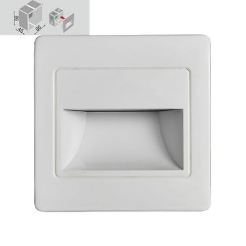 Emithor STEP LIGHT LED 1,5W, 4000K, WHITE